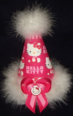 Hello Kitty birthday party hat