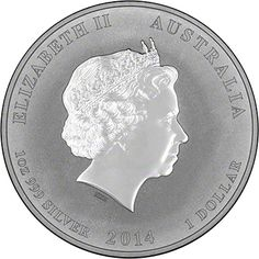 'Year of the Horse' Silver Coin Obverse. Available in 1/2 oz, 1 oz, 2 oz, 5 oz, 10 oz and 1 kilo versions.