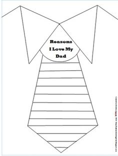 Father's Day writing prompt, gift, freebie.  repinned by Charlotte's Clips http://pinterest.com/kindkids/loving-language-arts-charlotte-s-clips/