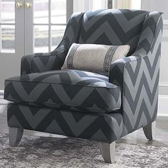 Gibson Accent Chair by Bassett Furniture accent chairs