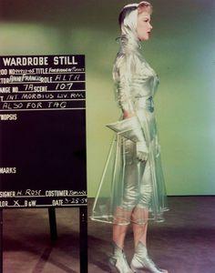 "Anne Francis wardrobe test as ""Altaira 'Alta' Morbius"" in Forbidden Planet (1956)"