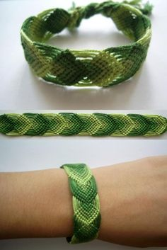 friendship bracelets.