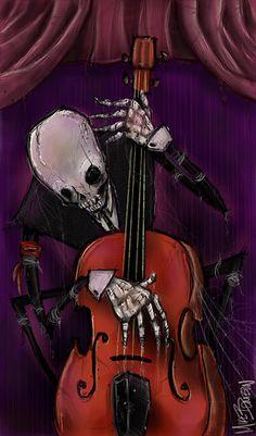 ☆ The Dead Cello :¦: Artist Michael Bombon ☆