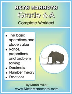 Free 6th grade math worksheets. Randomly generated, printable from your browser!