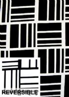 Black and white contemporary woven faric. Suitable as slipcover or upholstery fabric. This fabric is reversible. Dry clean only. Weight: Medium Width: 54 in.
