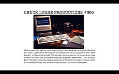 Chuck Lorre Productions sign-off at the end of Big Bang Theory.