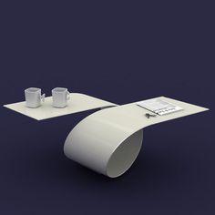 Loop coffee table, Baita Design. Kevin's future business office table.