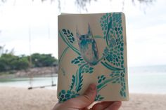 painting on the beach in Koh Phangan thailand