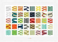 50 Free Herringbone Illustrator Pattern Swatches http://wegraphics.net/downloads/50-free-herringbone-illustrator-pattern-swatches/