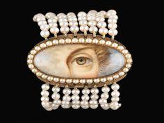 antique jewelry lover's eye bracelet