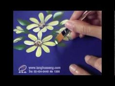 How to paint daisy