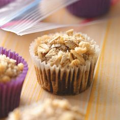 Mini Sweet Potato Muffins    These ginger-flavored, streusel-topped sweet muffins are particularly addictive.