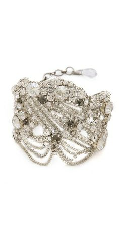 Click Image Above To Buy: Jenny Packham Onda Bracelet Ii