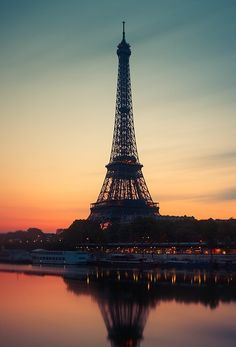 Sunset in #Paris