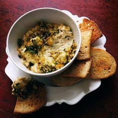 Spiced Crab and Lemon Dip Recipe Ideas - Healthy & Easy Recipes (EasyLiving.co.uk)