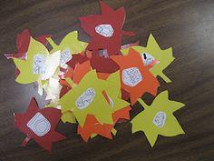 Rhyming center - Kindergarten Rocks!: October 2011