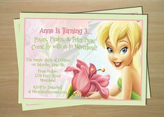 Pixies, Pirates and Peter Pans Invitation