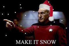 Christmas Star Trek
