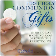 First Holy Communion gifts become treasured keepsakes for a lifetime. Do you still have yours after all these years? communion gift, gift idea