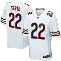$89.99 Men's Nike Chicago Bears #22 Matt Forte Limited White Jersey