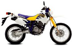 Suzuki DR350, my first bike. She was great riding single track through the trees.