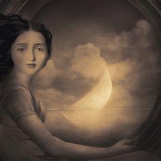 art galleri, artists, saatchi onlin, onlin artist, france, luna moon, patrick gonzal, paintings, medium