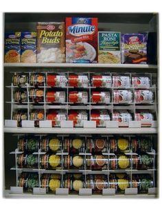 Auto-Rotating Food Storage Racks & Organizers