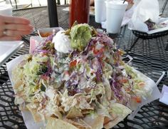 Supersized Nachos: The Incredible Tower of Nachos (Click through for 10 Extreme Nacho Creations)