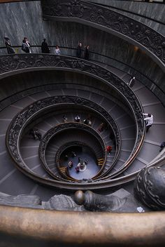 Vatican Museum stairs  ♥ by #GalerieW 2014