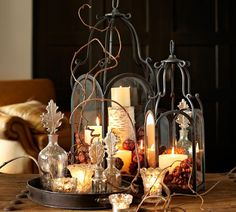 All aglow. #potterybarn