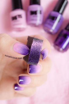 ombre nails easy tutorial