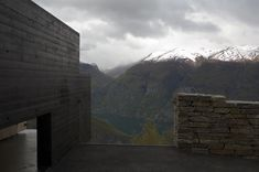 Aurland, Norway, contemporary public-toilet architecture