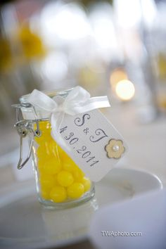 Lemonhead favors.  T