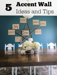 5 Accent Wall Ideas