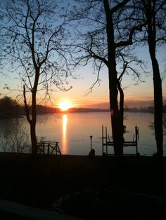 Luanne Stencil took this photo of a sunrise over Long Lake in White Lake Township on Jan. 11, 2012.