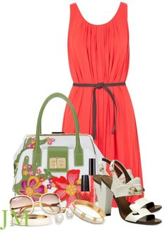 """""""BRACCIALINI Clio tote"""" by jenniemitchell ❤ liked on Polyvore"""