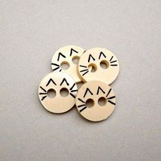 Tutorial: Sewable Shrink Plastic Buttons #buttons #shrinkplastic #sewable #DIY #tutorial