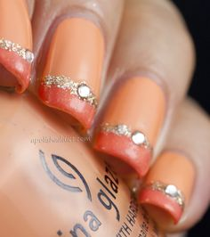 Fun Summer Coral Nails! A Polish Addict