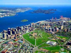 McNabs Island - legend has it that there is a secret underground tunnel between McNabs Island & the Halifax Citadel although none has been found.  http://www.MervEdinger.com