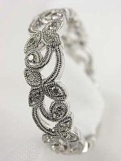 Edwardian Style Diamond Wedding Ring. In rose gold, and I'm set.