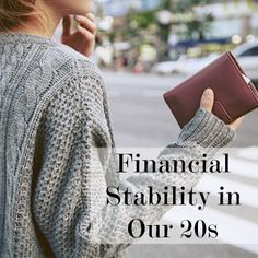 Finances in our 20s