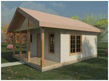 109 Free Small Home Plans, Cabin Plans, Cottage Designs and Do-It-Yourself Building Guides - These free blueprints and building lessons can help you build an economical, small, energy efficient home for your future. Select from over sixty small home designs to plan your retirement cottage, getaway cabin, guest house or rental unit.