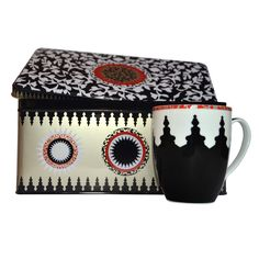 Fab.com | Tin Mosaic Mug Set Of 2