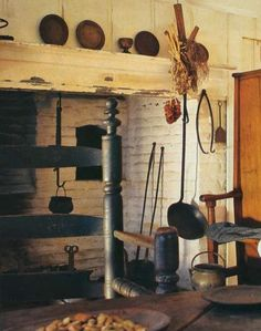 One I hope to have an old farm house with a fireplace in the kitchen to cook in!