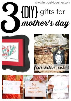 3 Mother's Day Gifts & GIVEAWAY! | Let's Get Together - three fun gift ideas for moms that you've never seen before! Also a giveaway for a free 8x10 print from Collectivity Lane. www.lets-get-together.com #mothersday #giftideas #collectivitylane