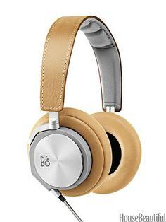 Bang & Olufsen headphones.