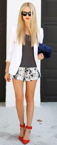 shorts + shoes!