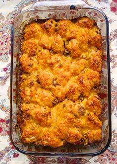 Un-Sloppy Joe Bubble Up Casserole