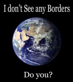 A world with no borders