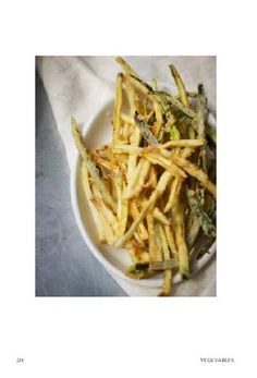 POLPO - Zucchini shoestring fries